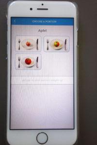Carbs&Cals App, Inside, Food, Snacks, Apple