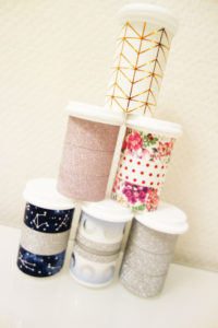 Test Strips with Washi