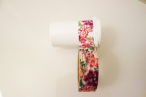 Test strip container with washi